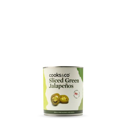 Sliced Green Jalapenos 820g