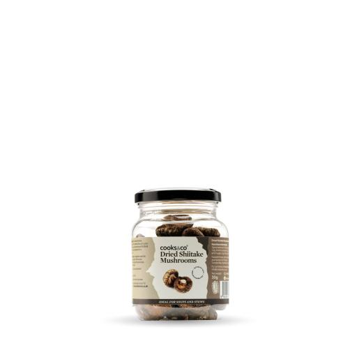 Dried Shiitake Mushrooms 30g