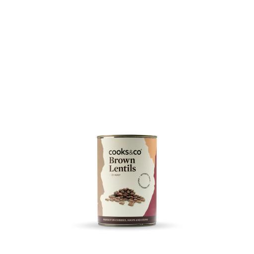 Brown Lentils 400g