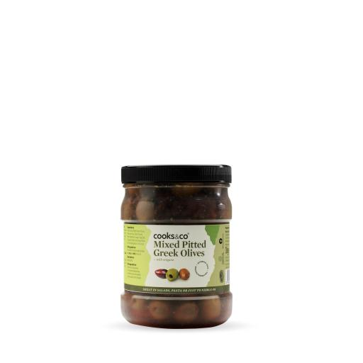 Greek Olive Mix with Oregano 1kg