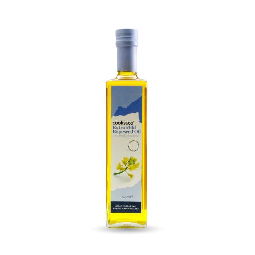Extra Mild Cold Pressed Rapeseed Oil 500ml