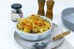 Mac 'n' Cheese with Dried Mixed Forest Mushrooms