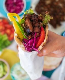 Jackfruit Kebabs
