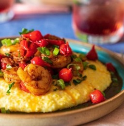 Southern Shrimp & Cheesy Grits