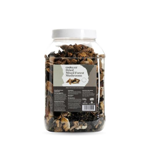 Dried Mixed Forest Mushrooms 500g
