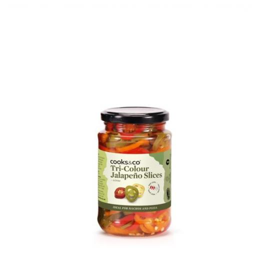 Tri-Colour Jalapenos, 290g